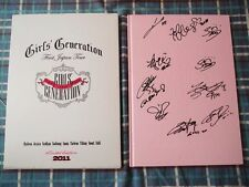 (SALE) SNSD GIRLS GENERATION AUTOGRAPH JAPAN FIRST TOUR PHOTO BOOK RARE