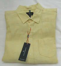 Marks and Spencer Men's Linen Casual Shirts & Tops