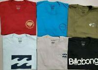 Men's t shirt BILLABONG Tees Snowboard Surf Skateboard 100 % Cotton Reg $26 NEW
