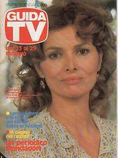 rivista GUIDA TV ANNO 1982 NUMERO 20 SCILLA GABEL