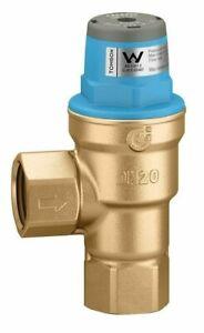 Tomson PRESSURE REDUCING VALVE 20mm 500kPa Water, Right Angle Locked, Brass