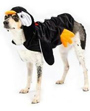Top Paw Dog Penguin Costume with Hood Christmas Fancy Dress Outfit Large