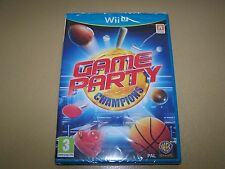 Game Party Nintendo Wii U **New & Sealed**