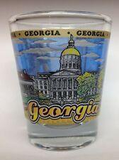 GEORGIA STATE SHOT GLASS NEW