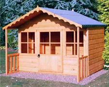 Garden Wooden Playhouse 6' x 4' + 1'6'' 1790mm x 1190mm T&G 'Pixie'