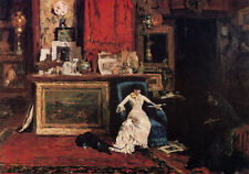 Dream-art Oil painting William Merritt Chase - The Tenth Street Studio on canvas