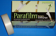 """1 Roll 1""""x1080"""" Clear Parafilm Nursery Tape for Grafting and Budding"""