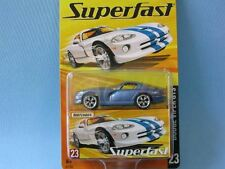Matchbox Superfast Dodge Viper GTS Metallic Blue Body Toy Model Sports Car USA