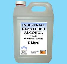 INDUSTRIAL DENATURED ALCOHOL IDA Industrial Meths 5 Litre