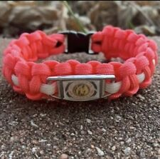 Mighty Morphin Power Rangers: Pink Ranger Paracord Bracelet