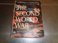De Luxe Golden Book The Second World War Winston S. Churchill Editors of Life