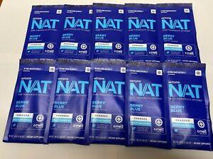 Pruvit Keto NAT OS PRO Ketones Berry Blue Charged 10 Packs, New, Free Shipping!!