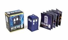 Doctor Who: Light-Up Tardis Kit by Richard Dinnick Hardcover Book (English) NIB