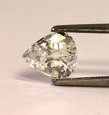 GIA certified 1.14ct SI2 H pear diamond 9.16x7.74x2.49mm vintage estate