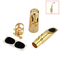 Gold Alto Saxophone Mouthpiece Pro 5C/6C/7C/8C Metal Brass Alto Sax Mouthpiece