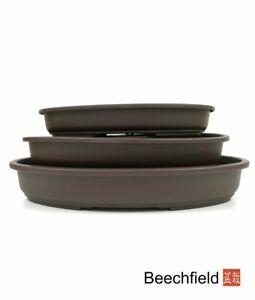 Plastic Bonsai Shallow Oval Training Pot - Choice of Sizes