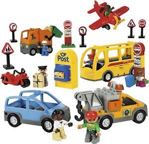Various DUPLO Toy Bundles Vehicles Figures Animals Parts & Pieces Genuine LEGO