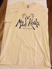 RARE Vintage MAD KOALA Surf Skate Aussie Australia 90s made USA Large T-shirt