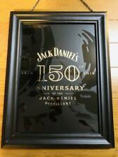 JACK DANIEL'S Pub Mirror 150th Anniversary Limited Edition Not sold in stores