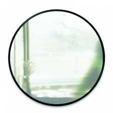 """Umbra Hub Wall Mirror - Black 24"""" (61cm)"""