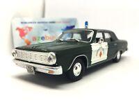 Dodge Dart Sedan Municipal Police Spain 1965 Year 1/43 Scale Diecast Model Car