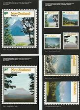 NZ Postcards Series 2 set of 5  Complete Unused Sold as Per Scans