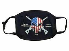 Wholesale Lot The 2nd Amendment Liberty or Death Fashion Face Mask Black color