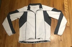 Mint Cond  Sugoi Long Sleeve Full Zipper Reflective Logo Men's XL Cycling Jerse