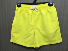 BNWT Boys Sz 12 Target Brand Smart Yellow Volley Style Sports/Swim Style Shorts