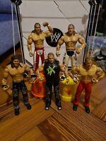 5 x WWE Wrestling Figure Shawn Michaels    Jakks bundle