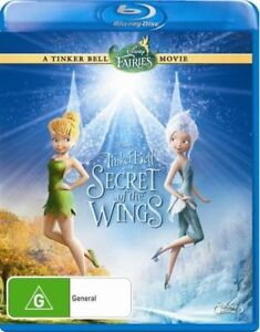 TinkerBell And The Secret Of The Wings (Blu-ray, 2012)