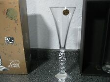 Matching Set of Millennium 2000 Champagne Flute Glasses