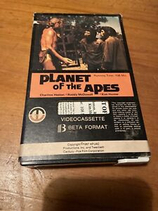 PLANET OF THE APES PRE CERT BETAMAX VIDEO MAGNETIC INTACT CARTON
