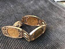 Gold Full Sovereign 3 Coin Bracelet - 41.2 Grams