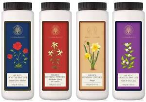 Forest Essential Choose from 4 Variants Dusting Powders 100 Gm Body Talc