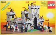 LEGO KING'S CASTLE 6080 Set Classic Lion Knights 12x minifig lot horses medieval