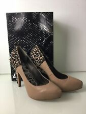 Sam Edelman Roza Stud Court Shoes In Nude Leather. Worn Twice. VGC. Box. UK 8