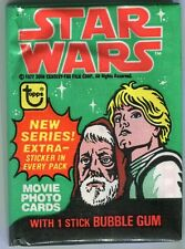 1 Original Star Wars Movie Series 4 Trading Card Pack 1 Sealed Pack Topps 1977