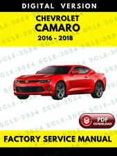 Chevrolet Chevy Camaro 2016 2017 2018 Service Repair Manual + Wiring