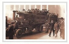 Nostalgia Postcard City Workers on a Steam Lorry 1926 Reproduction Card NS49