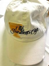 Presidents Cup Cap - Melbourne 2011 - Distressed Look - White