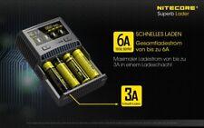 Nitecore SC4 4-Schacht Schnellladegerät für LiIon, LiFePO4 & NiMH