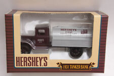 Ertl 1995 Hershey's 1931 Syrup Tanker Truck Bank #1505 DieCast - NEW E02A