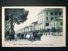 PESCARA RIVIERA DI CASTELLAMMARE ADRIATICO CORSO UMBERTO - VIAGGIATA 1934 - 1581