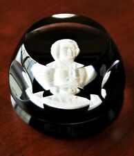 Franklin Mint Crystal Paperweight Baccarat France
