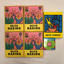 NEW Keith Haring Stationary Set 100 Notecards & Stickers