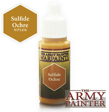 The army painter bnib warpaint-sulfure ocre APWP 1456