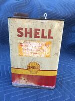 Vintage Shell Oil Gallon Can