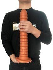 Soft Silicone-Big-Dildo-Plug-Prostate-Massager-Huge-Screw-Vagina-Anal-For Women