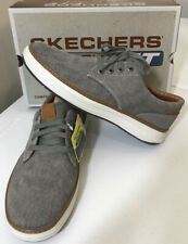 Skechers Taupe Moreno Ederson Oxford Casual Shoes Men's Size 10